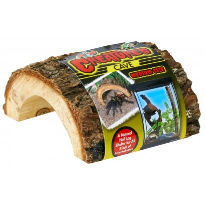 Zoo Med Creatures Wooden Cave