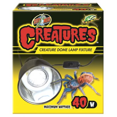 Zoo Med Creatures Dome Lamp Fixture 40w