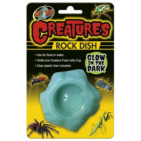 Zoo Med Creatures Glow in Dark Rock Dish