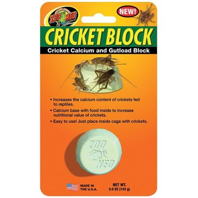 Zoo Med Cricket Block: Calcium & Gutload Block