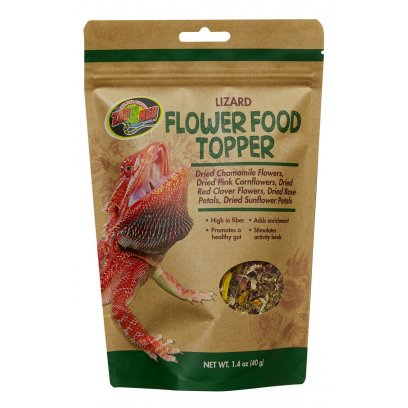 Zoo Med Lizard Flower Food Topper 40g
