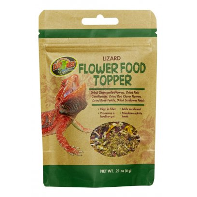 Zoo Med Lizard Flower Food Topper 6g