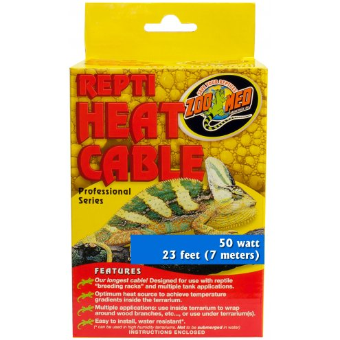 Zoo Med Repti Heat Cable 50W 7m