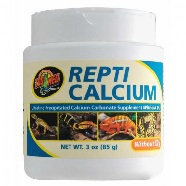 Zoo Med Repti Calcium WITHOUT D3 85g