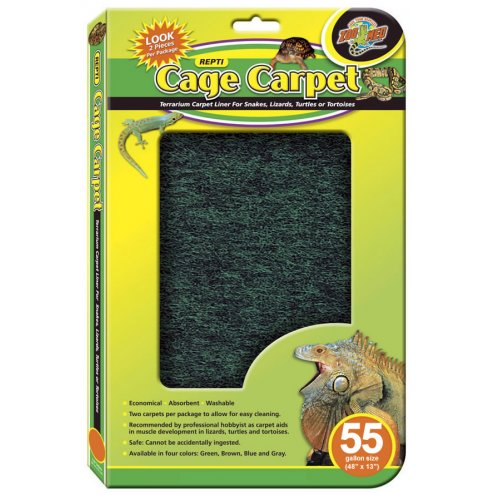 Zoo Med Repti Cage Carpet 55 Gal (48x13in)