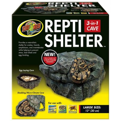 Zoo Med Repti Shelter 3in1 Cave Large