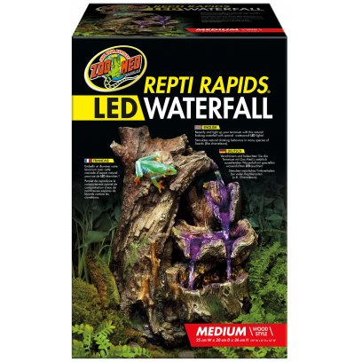 Zoo Med Repti-Rapids LED Waterfall Medium Wood