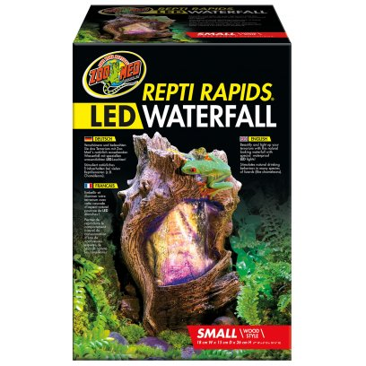 Zoo Med Repti-Rapids LED Waterfall Small Wood