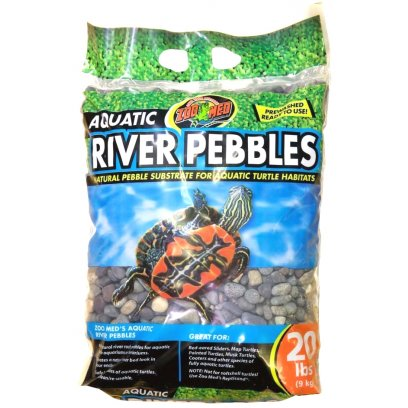 Zoo Med Aquatic River Pebbles 9Kg