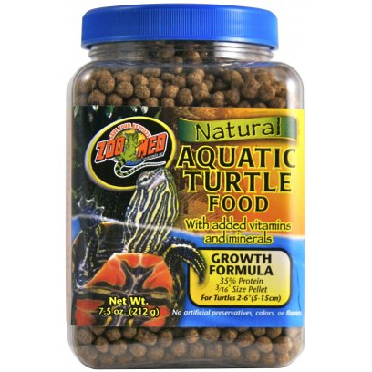 Zoo Med Aquatic Turtle Food Growth 212g