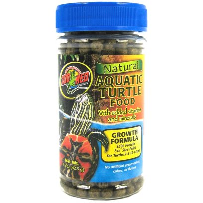 Zoo Med Aquatic Turtle Food Growth 42g