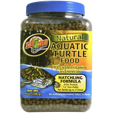 Zoo Med Aquatic Turtle Food Hatchling  213g