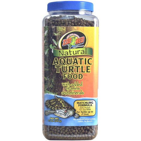 Zoo Med Aquatic Turtle Food Hatchling 425g