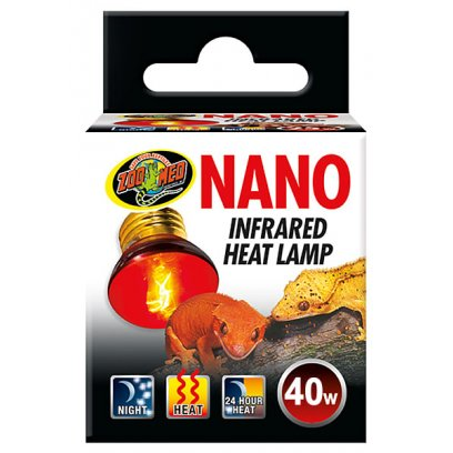Zoo Med Nano Infrared Heat Lamp 40w
