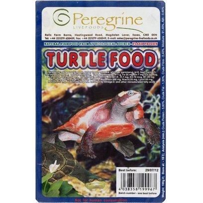 Peregrine Blister Pack Turtle Food 100g